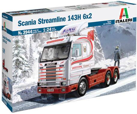 Italeri Scania Streamline 143H 6x2 1:24