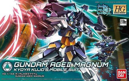 HG 1/144: AGE-IIMG Gundam AGEII Magnum