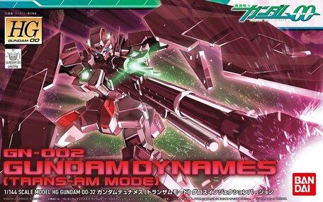 HG 1/144: GN-002 Gundam Dynames Trans-Am Mode