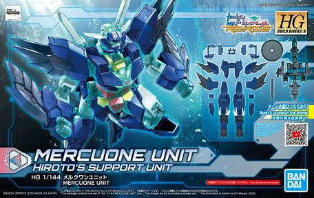HG 1/144: Mercuone Unit