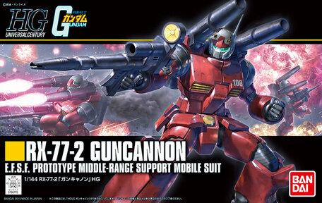 HG 1/144: RX-77-2 Guncannon
