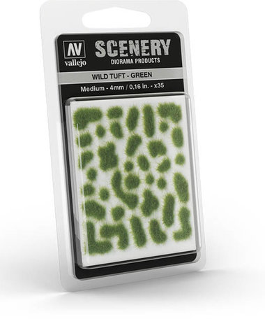 Vallejo Wild Tuft Green 4mm