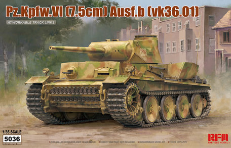 RFM Panzer VI Ausf. B (VK36.01) 1:35