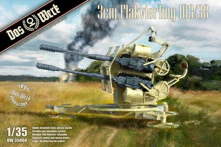 Das Werk 3cm Flakvierling 103/38 1:35
