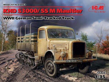 ICM KHD S3000/SS M Maultier 1:35