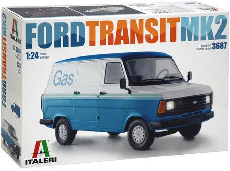 Italeri Ford Transit MK2 1:24