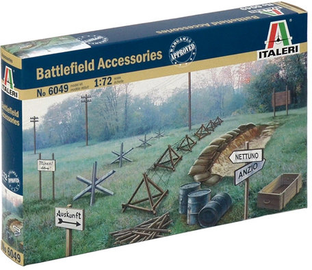 Italeri Battlefield Accessories 1:72