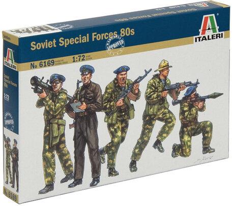 Italeri Soviet Special Forces 80s 1:72