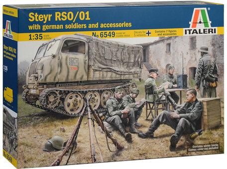Italeri Steyr RSO/01 with German Soldiers 1:35