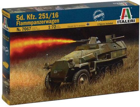Italeri Sd. Kfz. 251/16 Flammpanzerwagen 1:72