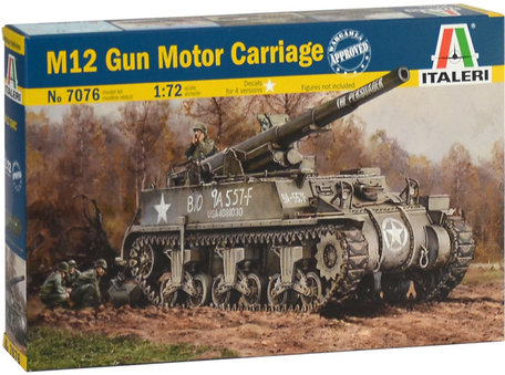 Italeri M12 Gun Motor Carriage 1:72
