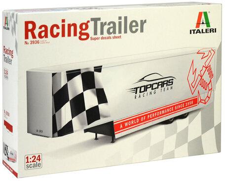 Italeri Racing Trailer 1:24