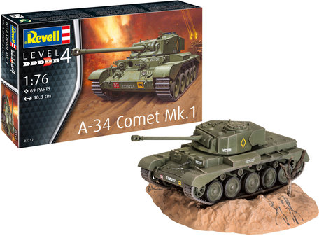Revell A-34 Comet Mk.1 1:76