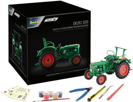 Revell Advent Calendar Deutz D30 1:24