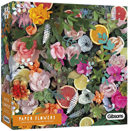 Gibsons Paper Flowers (1000)