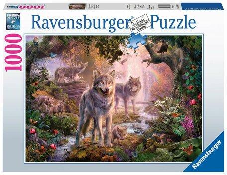 Ravensburger Wolvenfamilie in de Zomer (1000)
