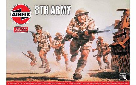Airfix WWII British 8th Army 1:76