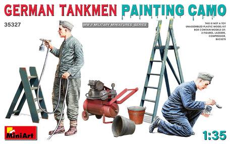 MiniArt German Tankmen Camo Painting 1:35