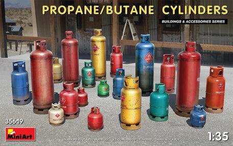 MiniArt Propane - Butane Cylinders 1:35