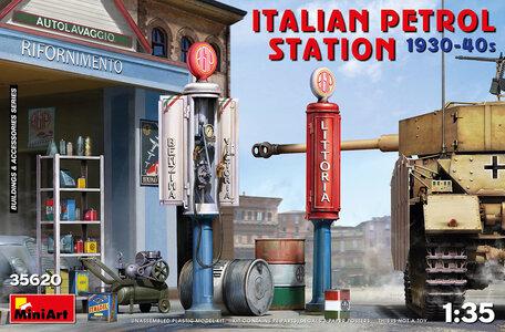 MiniArt Italian Petrol Station 1930-40s 1:35