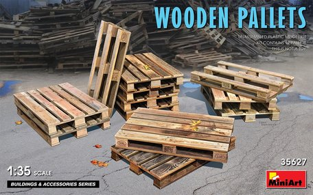 MiniArt Wooden Pallets 1:35