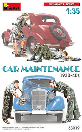 MiniArt Car Maintenance 1930-40s 1:35