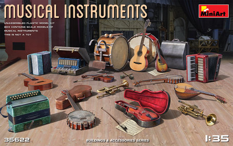 MiniArt Musical Instruments 1:35