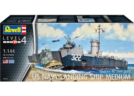 Revell US Navy Landing Ship Medium 1:144