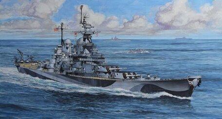 Revell Battleship U.S.S. Missouri 1:1200