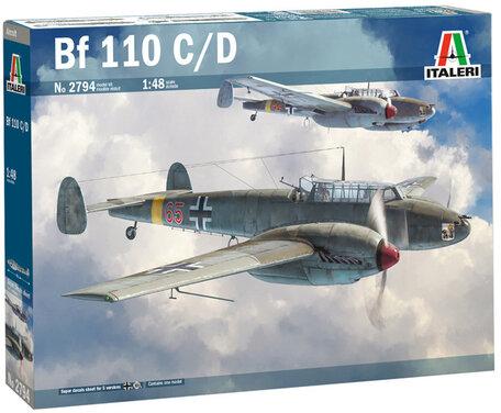 Italeri Bf 110 C/D 1:48