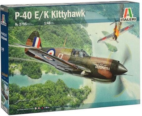 Italeri P-40 E/K Kittyhawk 1:48