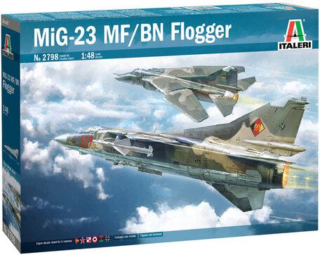 Italeri MiG-23 MF/BN Flogger 1:48