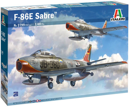 Italeri F-86E Sabre 1:48