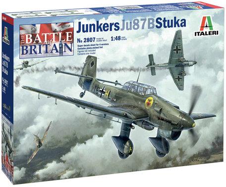 Italeri Junkers JU-87B Stuka 1:48