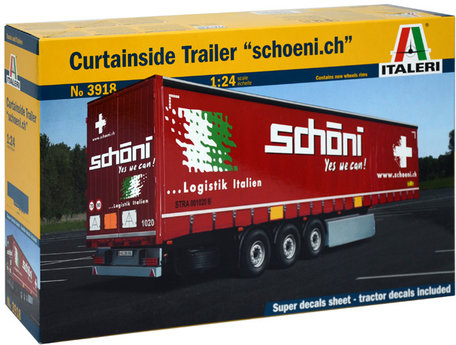 Italeri Curtainside Trailer
