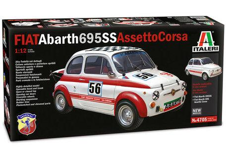 Italeri Fiat Abarth 695SS/Assetto Corsa 1:12