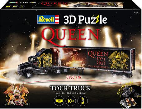 Revell 3D Puzzel QUEEN Tour Truck