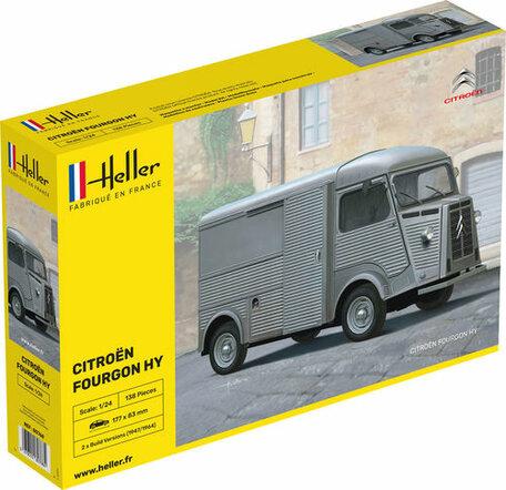 Heller Citroen Fourgon Type H 1:24