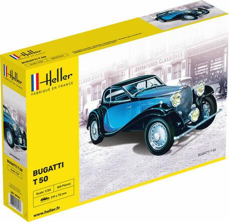 Heller Bugatti T.50 1:24