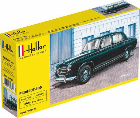 Heller Peugeot 403 1:43