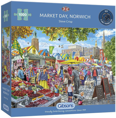 Gibsons Market Day, Norwich (1000)