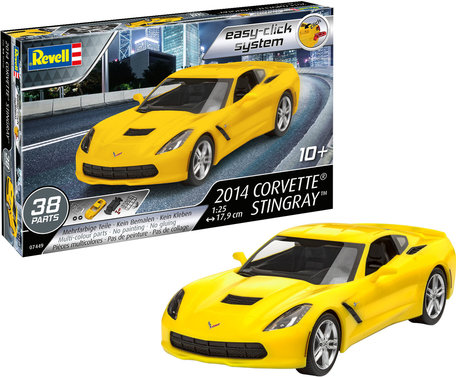 Revell 2014 Corvette Stingray 1:24