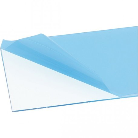 Plaat Transparant: 250 x 500 x 2.0 mm