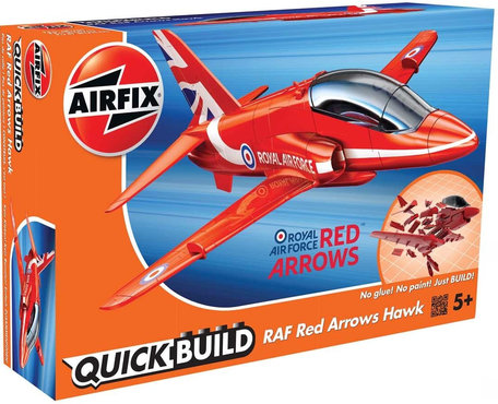 Airfix QuickBuild RAF Red Arrows Hawk