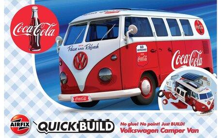 Airfix QuickBuild Coca-Cola VW Camper Van