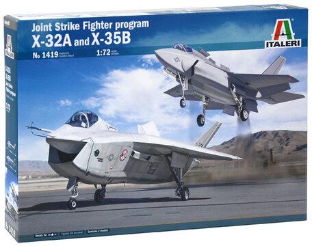 Italeri JSF Program X-32A and X-35B 1:72