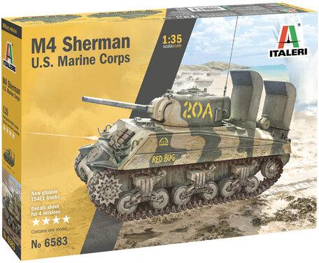 Italeri M4 Sherman U.S. Marine Corps 1:35