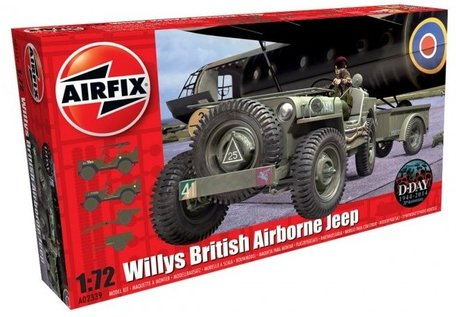 Airfix Willys British Airborne Jeep 1:72