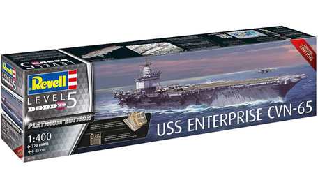 Revell USS Enterprise CVN-65 Platinum Edition 1:400