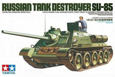 Tamiya Russian Tank Destroyer SU-85 1:35
